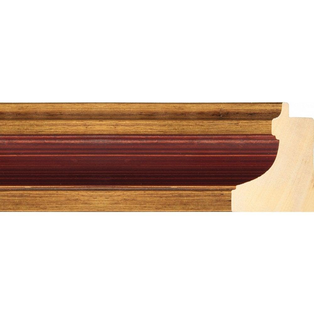Деревянный багет ZC 100-01, шир. 70мм